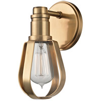 Hudson Valley 1081-AGB Red Hook 1 Light 5 inch Aged Brass Wall Sconce Wall Light