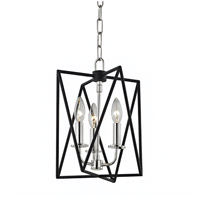 Laszlo 3 Light 10 inch Polished Nickel Pendant Ceiling Light