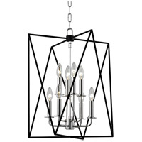 Laszlo 8 Light 18 inch Polished Nickel Pendant Ceiling Light