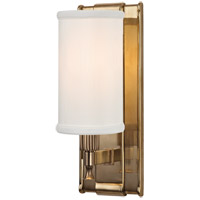 Palmdale 1 Light 5 inch Aged Brass Wall Sconce Wall Light
