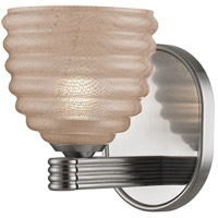 Hudson Valley Lighting Burlington 1 Light Semi Flush in Satin Nickel 1131-SN