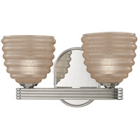 Thorton 2 Light 12 inch Polished Nickel Bath Vanity Wall Light