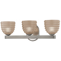 Thorton 3 Light 19 inch Satin Nickel Bath Vanity Wall Light