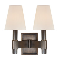 Hudson Valley Lighting Druid Hills 2 Light Wall Sconce in Distressed Bronze 1152-DB