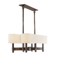 Hudson Valley Lighting Druid Hills 6 Light Island Light in Distressed Bronze 1156-DB