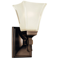 Kirkland 1 Light 6 inch Old Bronze Bath And Vanity Wall Light
