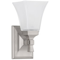 Kirkland 1 Light 6 inch Satin Nickel Bath And Vanity Wall Light