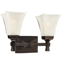 Kirkland 2 Light 15 inch Old Bronze Bath And Vanity Wall Light