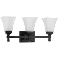 Kirkland 3 Light 23 inch Old Bronze Bath And Vanity Wall Light