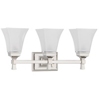 Kirkland 3 Light 23 inch Polished Nickel Bath And Vanity Wall Light