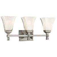 Kirkland 3 Light 23 inch Satin Nickel Bath And Vanity Wall Light
