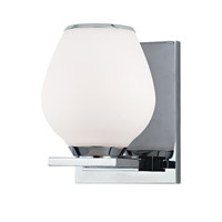 Verona 1 Light 5 inch Polished Chrome Bath Vanity Wall Light