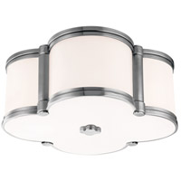 Chandler 2 Light 13 inch Polished Nickel Flush Mount Ceiling Light