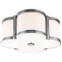 Hudson Valley 1212-PN Chandler 2 Light 13 inch Polished Nickel Flush Mount Ceiling Light