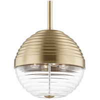 Easton 4 Light 14 inch Aged Brass Pendant Ceiling Light
