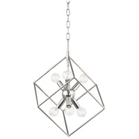 Roundout 6 Light 17 inch Polished Nickel Pendant Ceiling Light