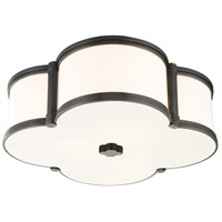 Chandler 3 Light 17 inch Old Bronze Flush Mount Ceiling Light