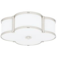 Chandler 3 Light 17 inch Polished Nickel Flush Mount Ceiling Light