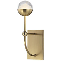 Boca LED 5 inch Aged Brass Wall Sconce Wall Light