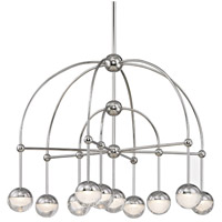 Boca LED 31 inch Polished Nickel Chandelier Ceiling Light