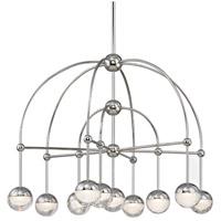 Hudson Valley 1230-PN Boca LED 31 inch Polished Nickel Chandelier Ceiling Light