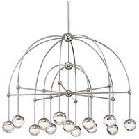 Boca LED 39 inch Polished Nickel Chandelier Ceiling Light