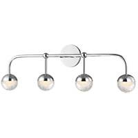 Boca LED 30 inch Polished Chrome Bath Vanity Wall Light
