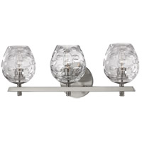 Hudson Valley 1253-SN Burns 3 Light 19 inch Satin Nickel Bath Vanity Wall Light