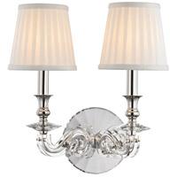 Lapeer 2 Light 12 inch Polished Nickel Wall Sconce Wall Light