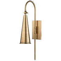 Alva 1 Light 5 inch Aged Brass Wall Sconce Wall Light