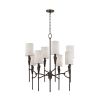 Hudson Valley Lighting Tate 8 Light Chandelier in Old Bronze 1304-OB