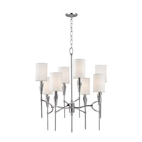 Hudson Valley Lighting Tate 8 Light Chandelier in Polished Nickel 1304-PN