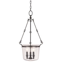 Quinton 3 Light 14 inch Old Bronze Pendant Ceiling Light