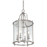 Hudson Valley Lighting Mansfield 4 Light Pendant in Polished Nickel 1315-PN