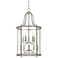 Mansfield 10 Light 20 inch Distressed Bronze Pendant Ceiling Light
