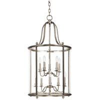 Hudson Valley Lighting Mansfield 10 Light Pendant in Polished Nickel 1320-PN