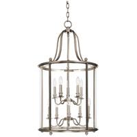 Hudson Valley 1320-PN Mansfield 10 Light 20 inch Polished Nickel Pendant Ceiling Light