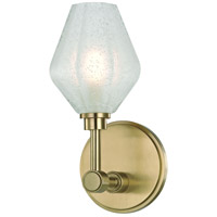 Orin LED 5 inch Aged Brass Bath Vanity Wall Light
