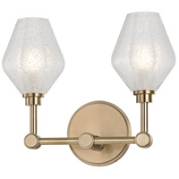Hudson Valley 1322-AGB Orin LED 13 inch Aged Brass Bath Vanity Wall Light