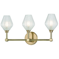 Hudson Valley 1323-AGB Orin LED 20 inch Aged Brass Bath Vanity Wall Light
