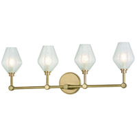 Hudson Valley 1324-AGB Orin LED 29 inch Aged Brass Bath Vanity Wall Light