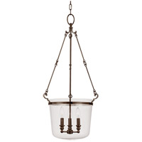 Quinton 3 Light 16 inch Old Bronze Pendant Ceiling Light