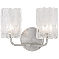 Dexter 2 Light 11 inch Satin Nickel Bath Vanity Wall Light