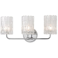 Hudson Valley 1333-PC Dexter 3 Light 18 inch Polished Chrome Bath Vanity Wall Light