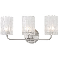 Dexter 3 Light 18 inch Satin Nickel Bath Vanity Wall Light