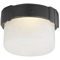 Beckett LED 6 inch Old Bronze Flush Mount Ceiling Light