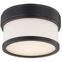 Hudson Valley 1420-OB Gemma LED 5 inch Old Bronze Flush Mount Ceiling Light