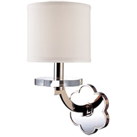 Hudson Valley Lighting Garrison 1 Light Wall Sconce in Polished Nickel 1421-PN