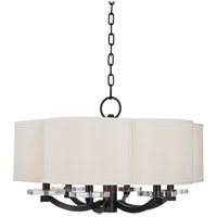 Garrison 6 Light 26 inch Old Bronze Chandelier Ceiling Light