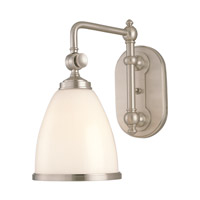 Hudson Valley Lighting Somerset 1 Light Wall Sconce in Satin Nickel 1428-SN